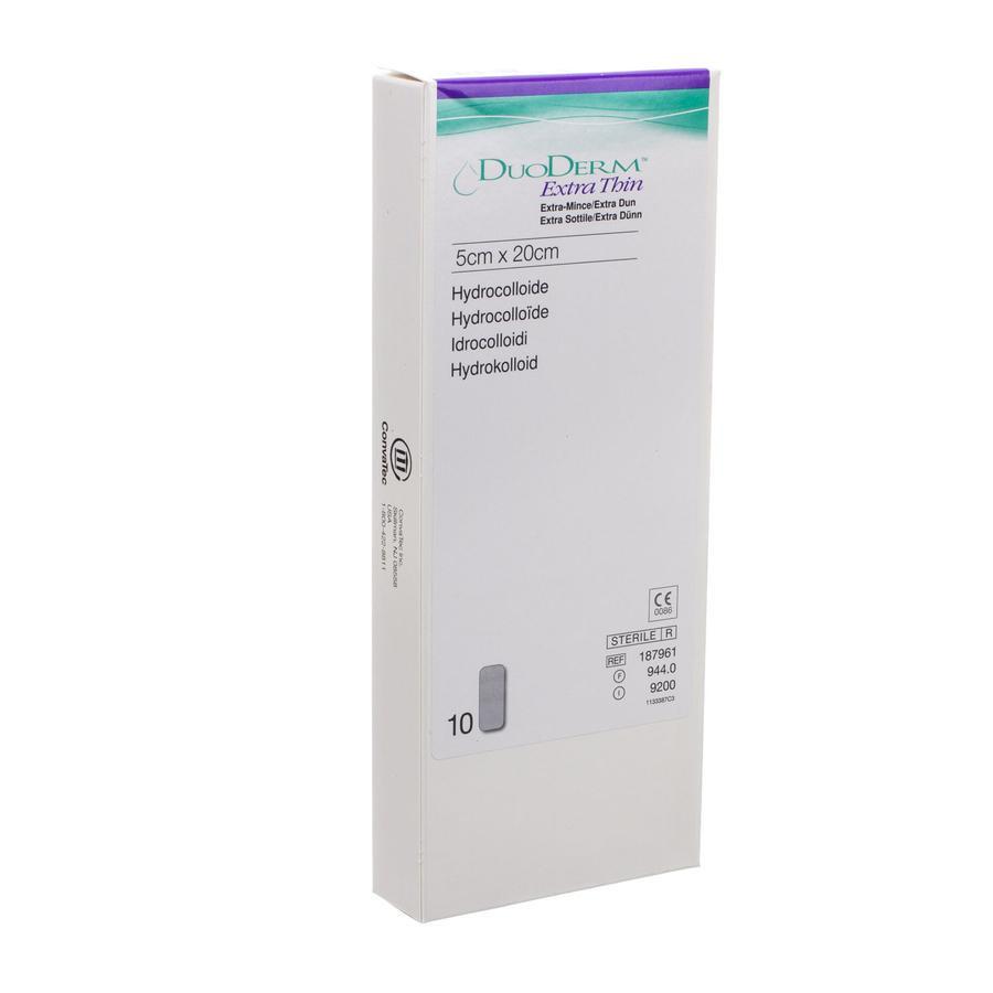 Image of Duoderm Extra Dun Verband 5cmx20cm 10 Stuks