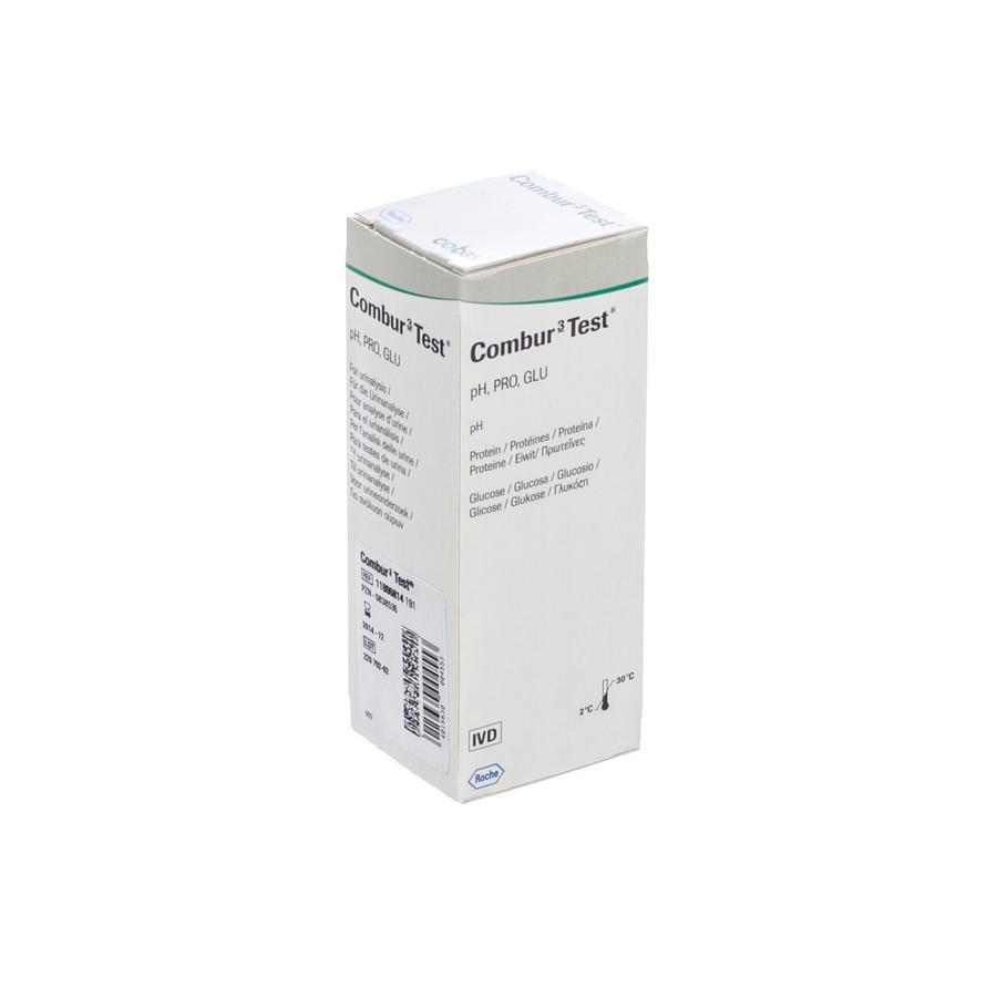 Image of Combur 3 Test Strips 50 11896814191
