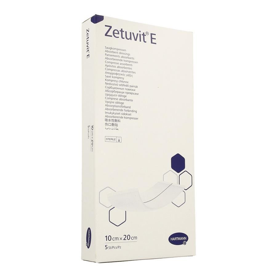 Image of Zetuvit 10x20cm 5 Stuks