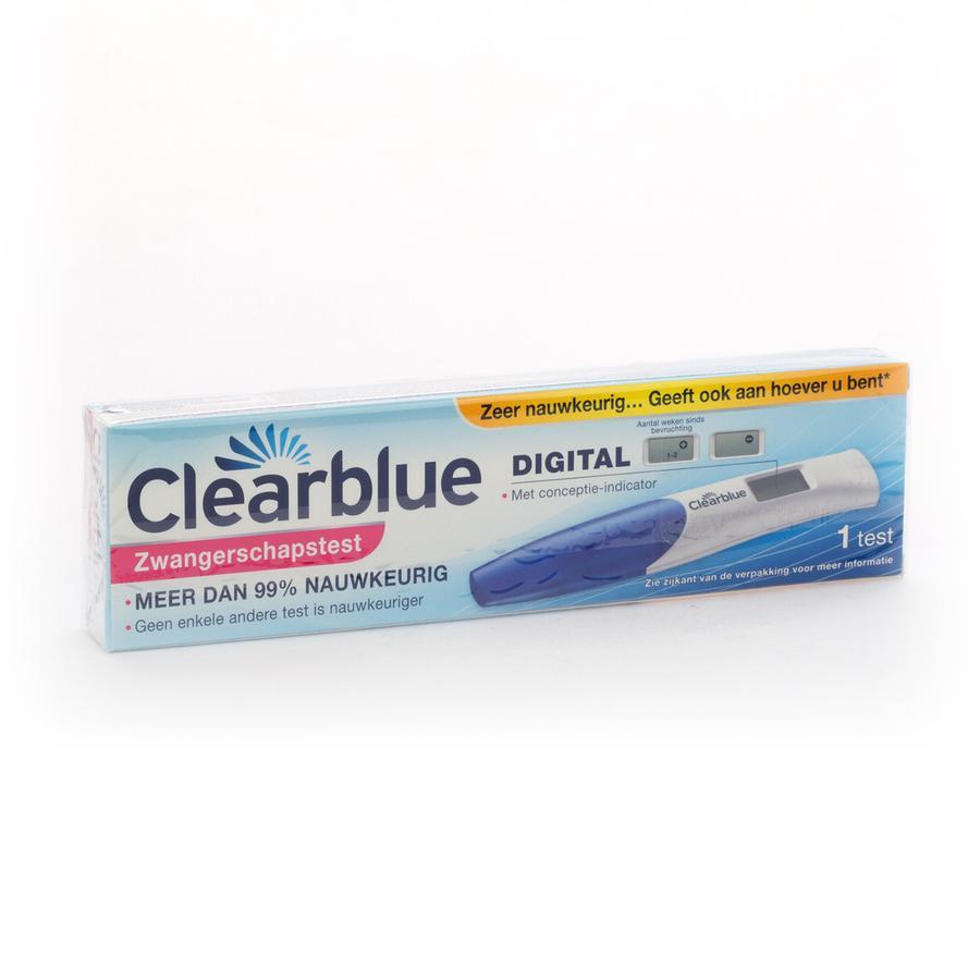 Image of Clearblue Zwangerschapstest Met Conceptie Indicator 1 Stuk