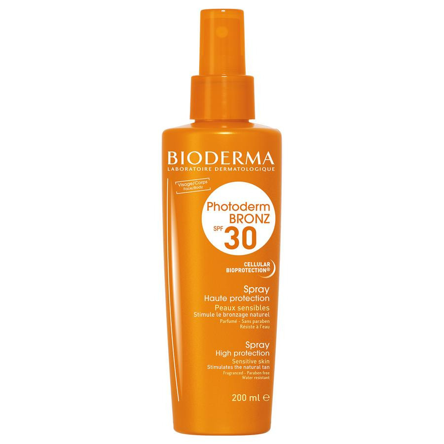 Image of Bioderma Photoderm Bronz SPF30 Spray 200ml
