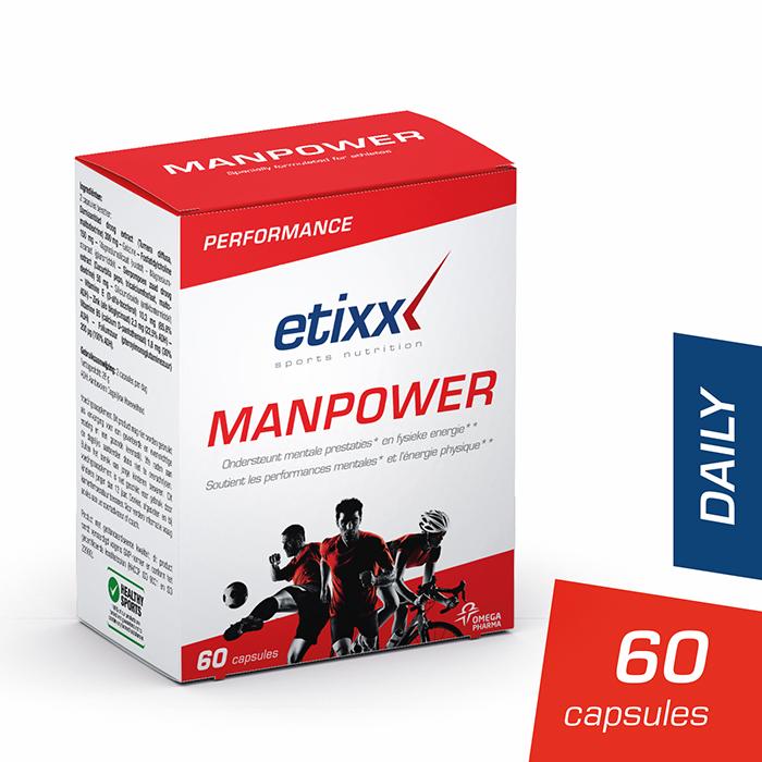 Image of Etixx Manpower 60 Capsules