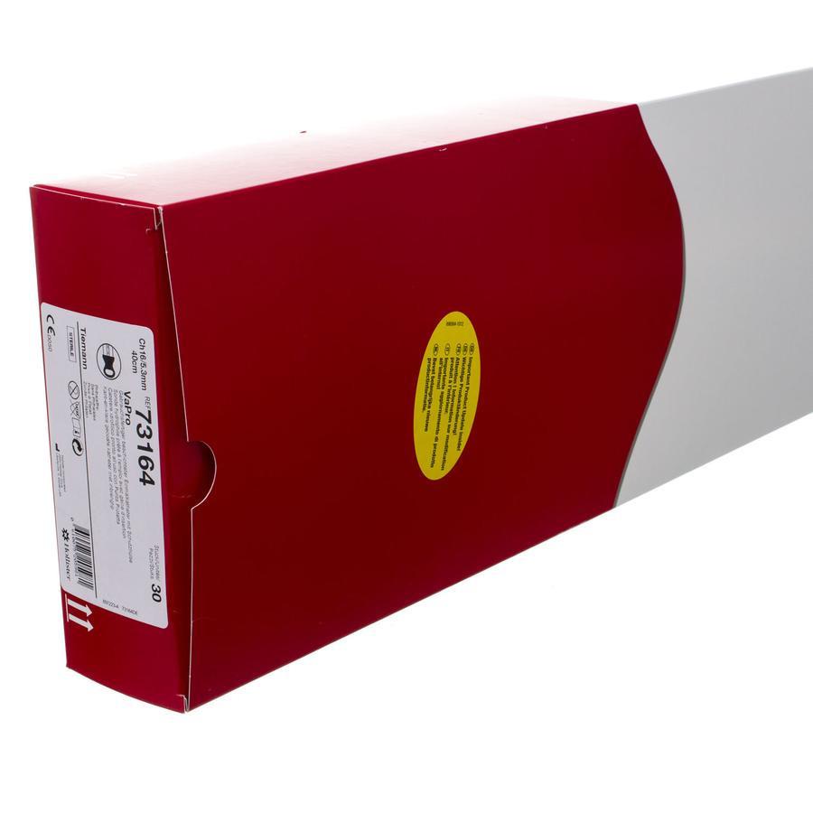 Image of Vapro Sonde Hydrofiel Tieman Man Ch16 40cm 30 Stuks