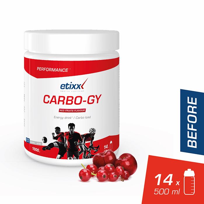 Image of Etixx Carbo-Gy Rode Vruchten 1kg