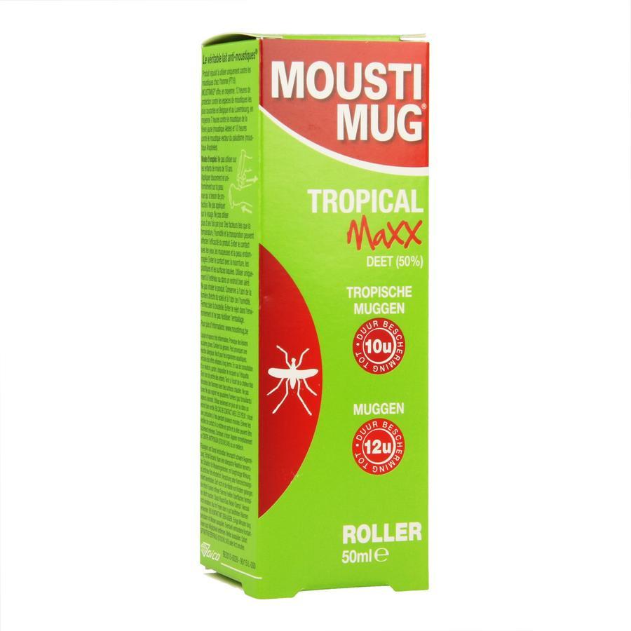 Image of Moustimug Tropical Maxx 50% DEET Roller