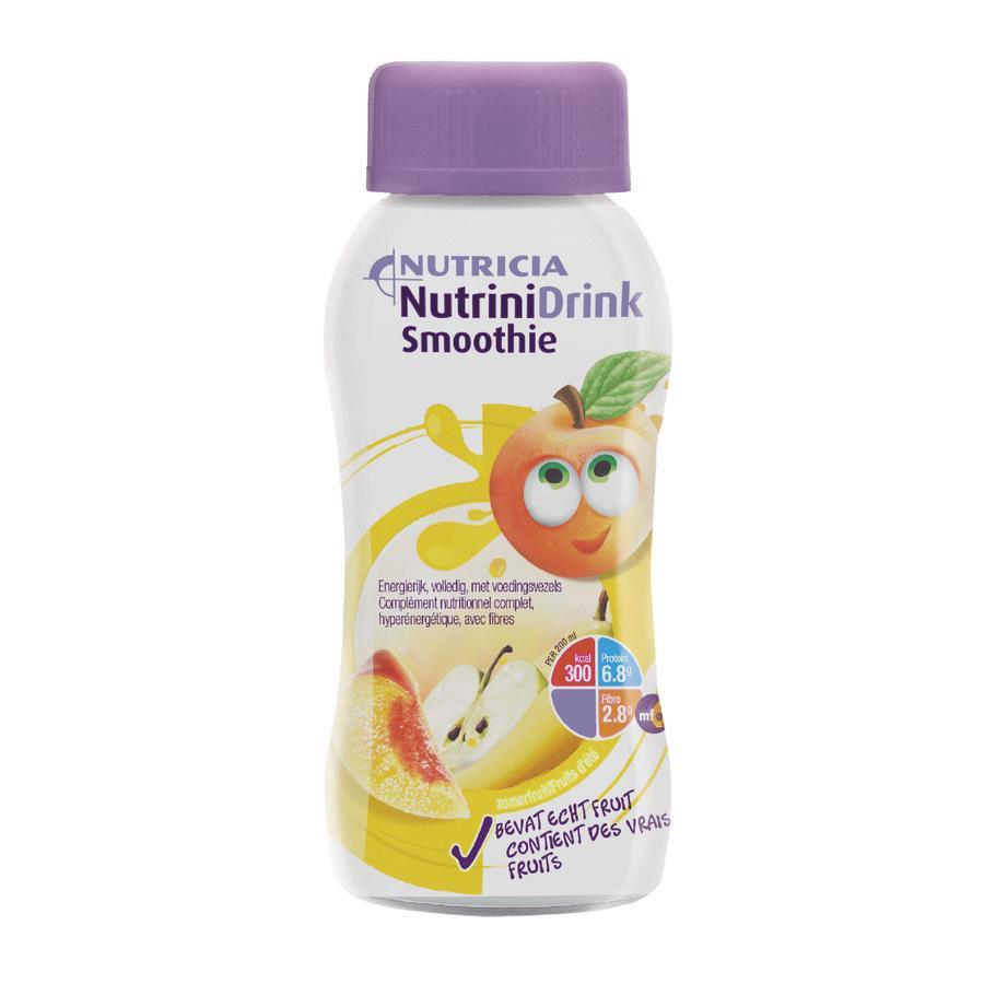 Image of Nutrinidrink Smoothie Zomerfruit 200ml