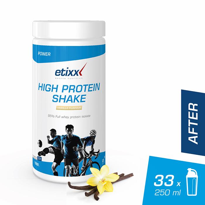 Image of Etixx High Protein Shake Vanille 1kg