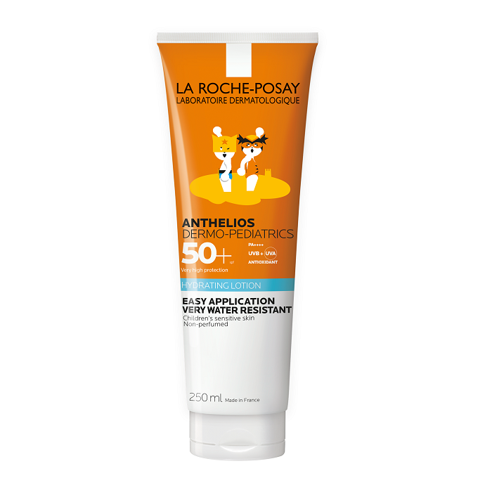 Image of La Roche Posay Anthelios Dermo-Pediatrics Hydraterende Zonnemelk Kind SPF50+ Zonder Parfum 250ml