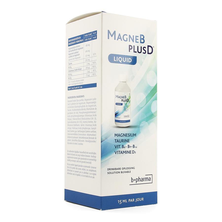 Image of Magne B Plus D Liquid 500ml