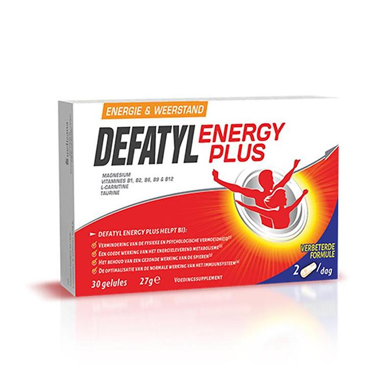 Image of Defatyl Energy Plus 30 Capsules