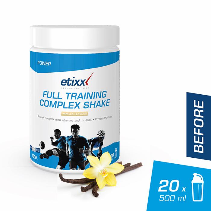 Image of Etixx Full Training Complex Shake Vanille 1kg