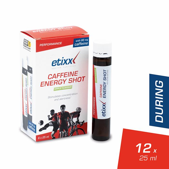 Image of Etixx Caffeine Energy Shot 6x25ml