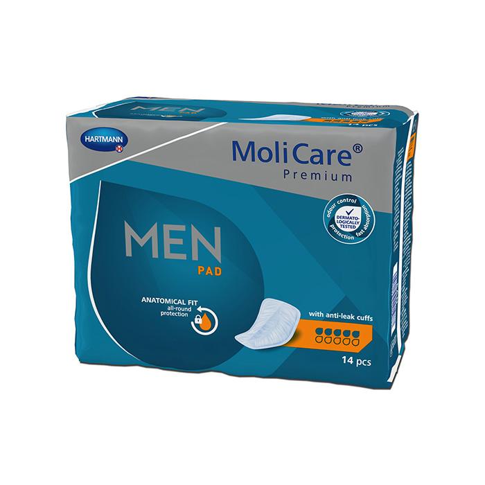 Image of Molicare Premium Men Pad 5 Druppels 14 Stuks
