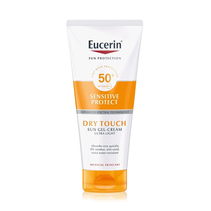 Image of Eucerin Sensitive Protect Dry Touch Gel-Crème SPF50+ 200ml