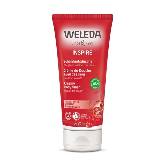 Image of Weleda Inspire Douchecrème Granaatappel 200ml