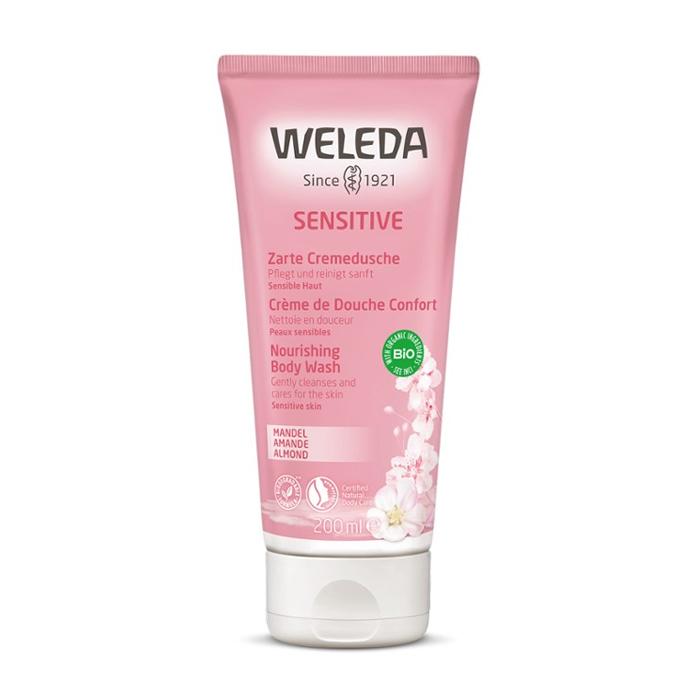 Image of Weleda Sensitive Verzachtende Douchecrème Amandel 200ml