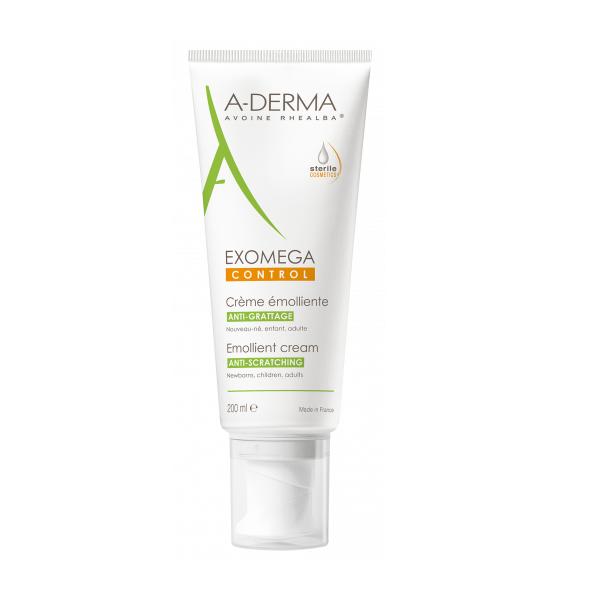 Image of A-Derma Exomega Control Emolliërende Crème 200ml