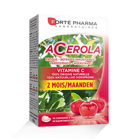 Image of Forté Pharma Acerola Energie 60 Kauwtabletten