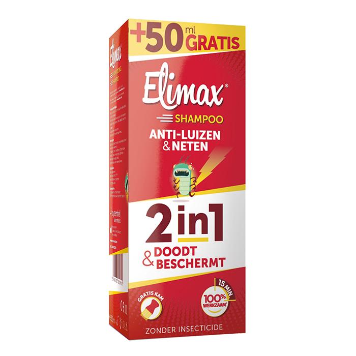 Image of Elimax Shampoo Anti-Luizen en Neten 250ml