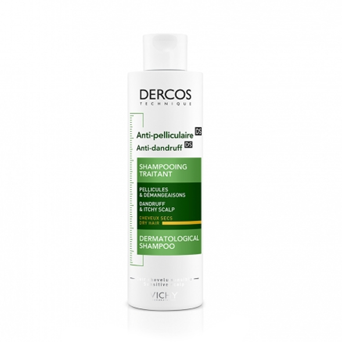 Image of Vichy Dercos Anti-Roos Droog Haar Shampoo 200ml