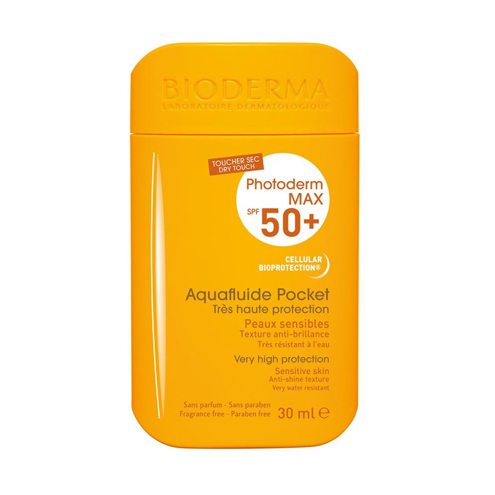 Image of Bioderma Photoderm Max Aquafluide Pocket SPF50+ 30ml