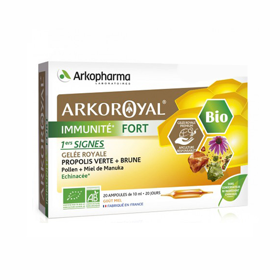 Image of Arkoroyal Immuniteit Forte Bio 20x10ml Ampullen