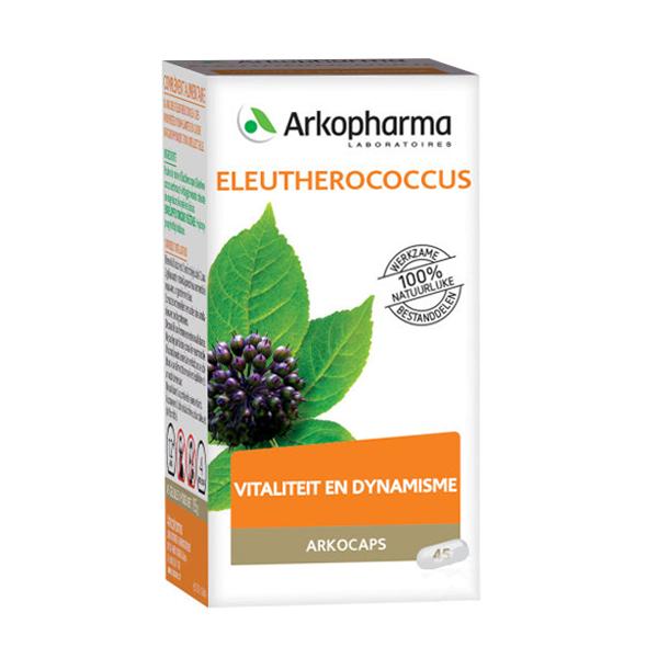 Image of Arkocaps Eleutherococcus Bio Vitaliteit & Dynamisme 40 Capsules