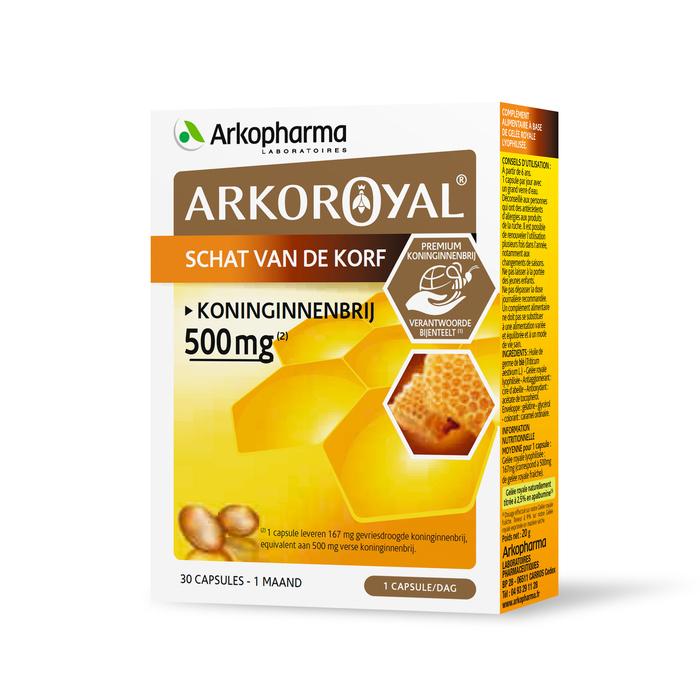 Image of Arkoroyal Koninginnenbrij 500mg 30 Capsules