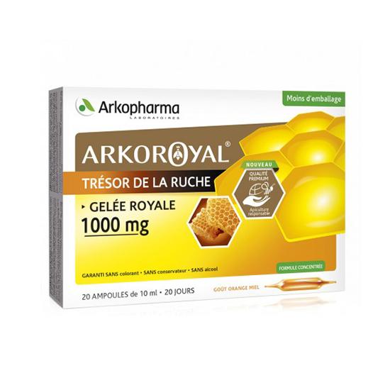 Image of Arkoroyal Koninginnebrij 1000mg 20x10ml Ampoules