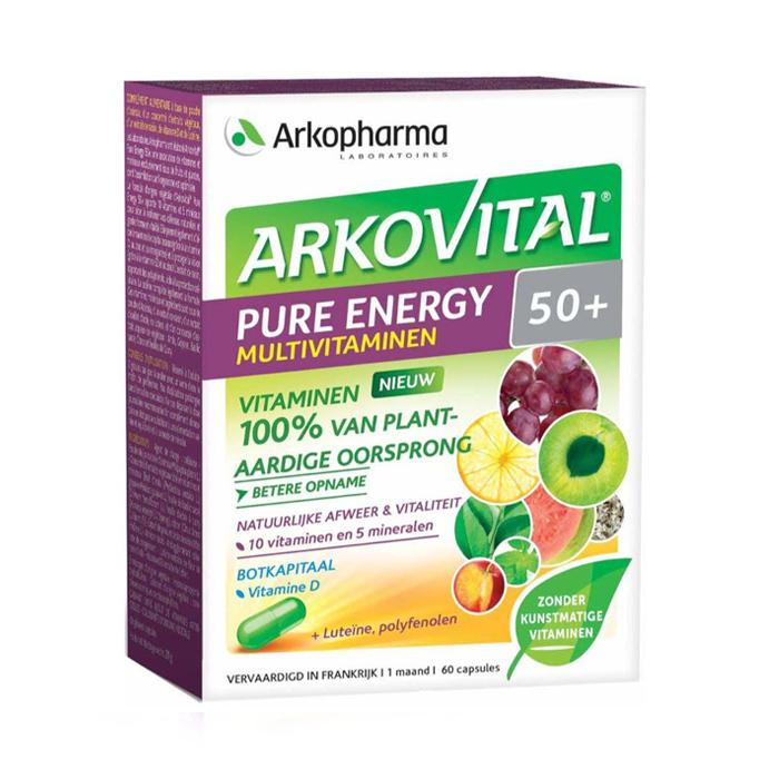 Image of Arkovital Pure Energy 50+ - 60 Capsules