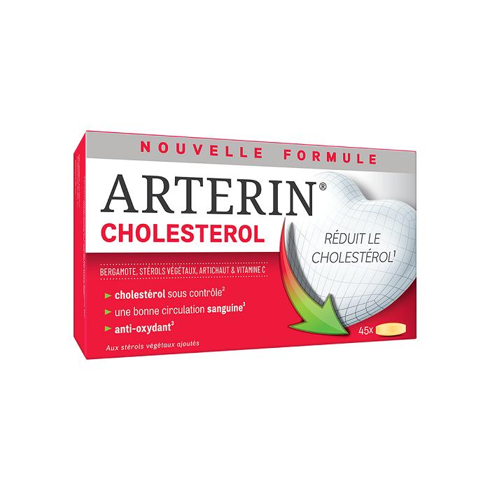 Image of Arterin Cholesterol - Zonder Rode Gist Rijst/Statines & Goede Tolerantie 45 Tabletten