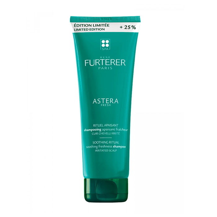 Image of René Furterer Astera Fresh Verkoelende Kalmerende Shampoo Geïrriteerde Hoofdhuid Promo 200ml + 50ml GRATIS