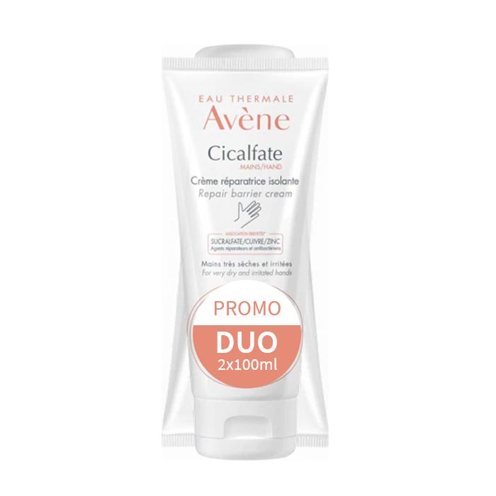 Image of Avène Cicalfate Herstellende Isolerende Handcrème Promo 2x100ml