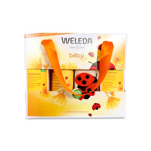 Image of Weleda Baby Geschenkkoffer 4 Producten