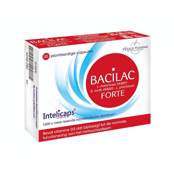 Image of Bacilac Forte Intelicaps 30 Capsules