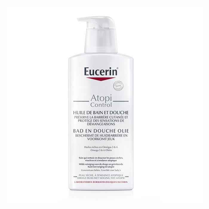 Image of Eucerin AtopiControl Bad/Doucheolie 400ml