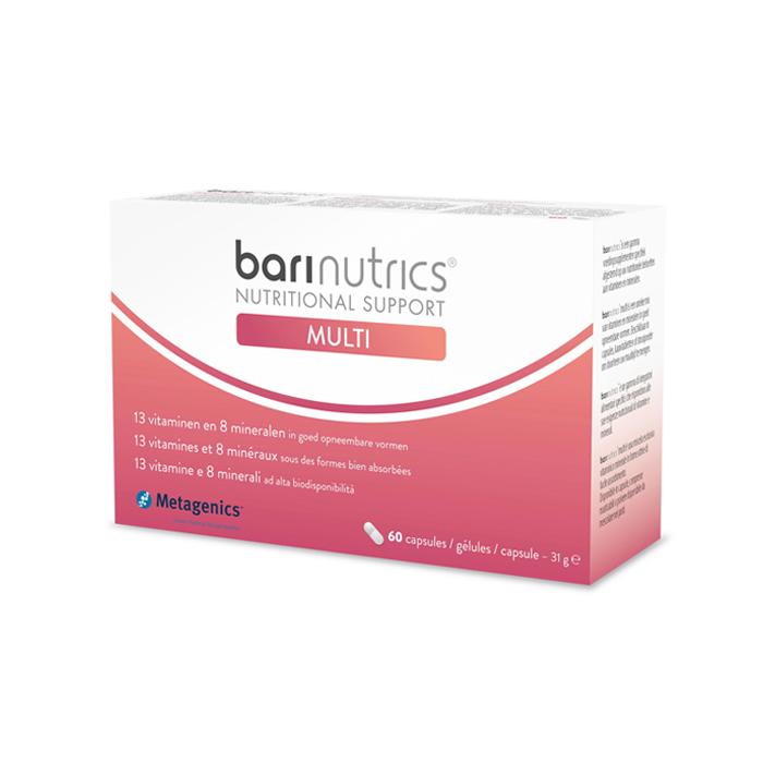 Image of BariNutrics Multi 60 Capsules NF