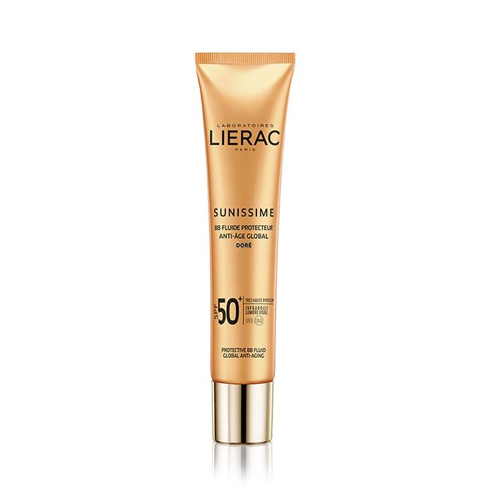 Image of Lierac Sunissime BB Beschermende Fluid Gelaat Doré SPF50+ 40ml