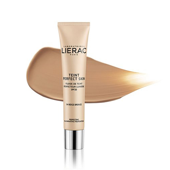 Image of Lierac Teint Perfect Skin Perfectionerende Verhelderende Fluid SPF20 Brons Beige 30ml