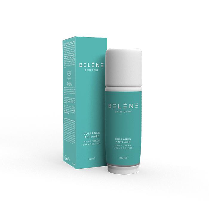 Image of Belène Collagen Anti-aging Nachtcrème 50ml