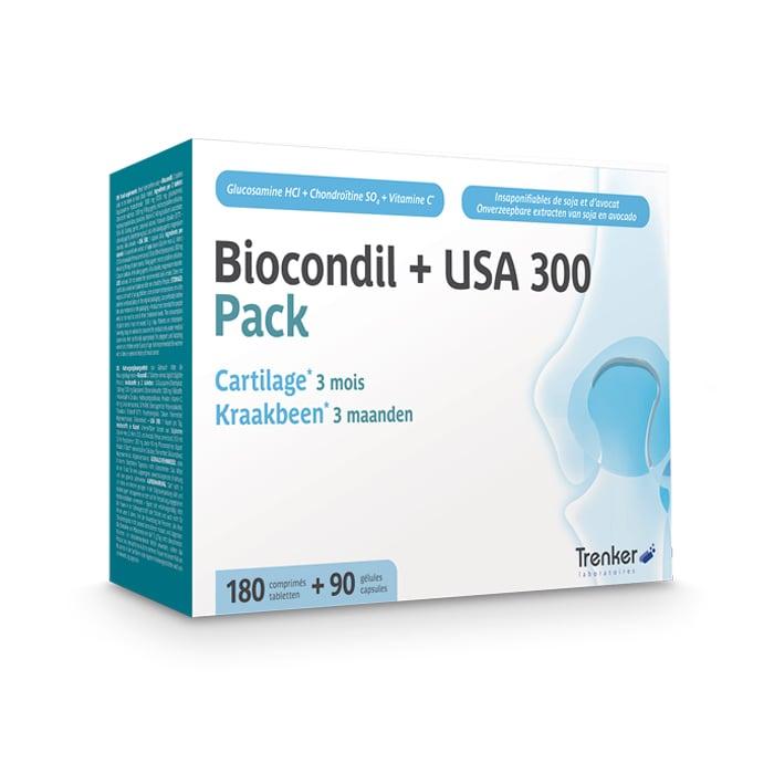 Image of Biocondil 180 Tabletten + USA300 90 Capsules