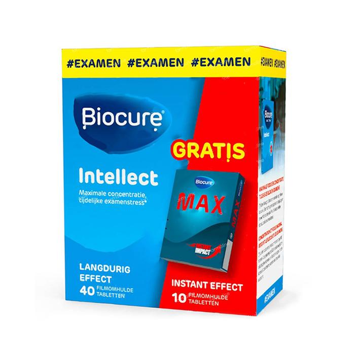 Image of Biocure Long Action Intellect Student 40 Tabletten Promo + GRATIS Biocure Max Instant 10 Tabletten