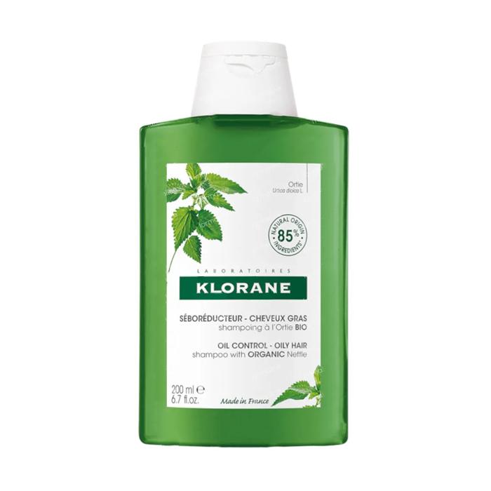 Image of Klorane Shampoo Biologische Brandnetel NF - Vet Haar 200ml