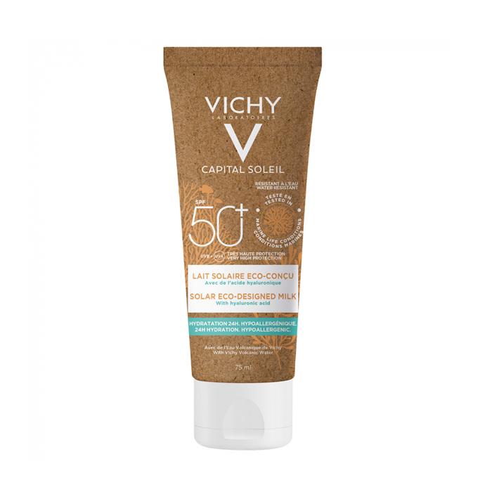 Image of Vichy Capital Soleil Eco-Friendly Zonnemelk SPF50+ 75ml