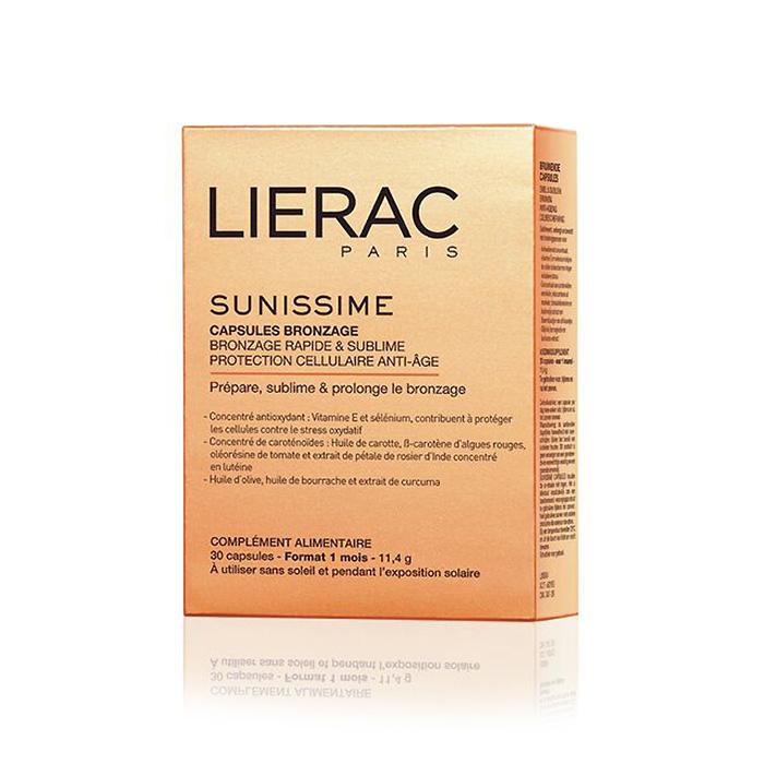 Image of Lierac Sunissime Snel & Subliem Bruinen 30 Capsules