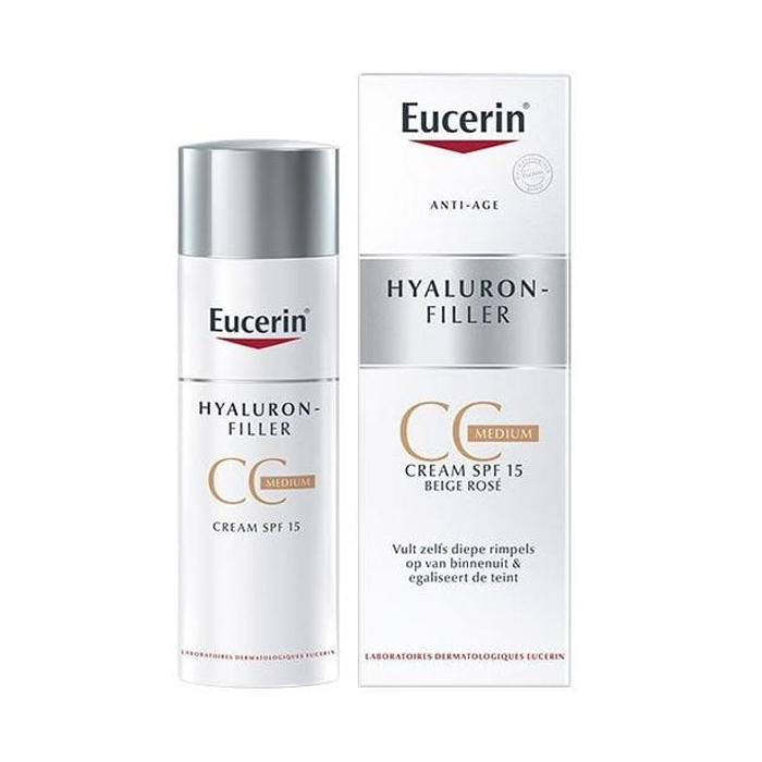 Image of Eucerin Hyaluron Filler CC Crème Medium 50ml