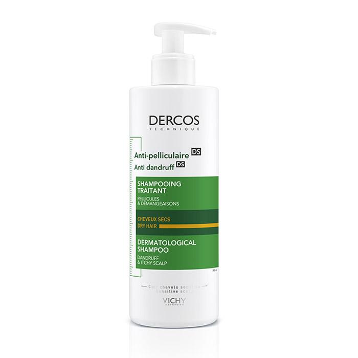 Image of Vichy Dercos Anti-Roos Droog Haar Shampoo 390ml