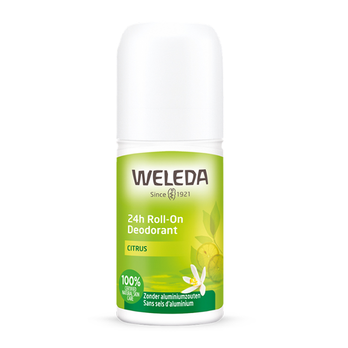 Image of Weleda Citrus 24H Roll-On Deodorant 50ml