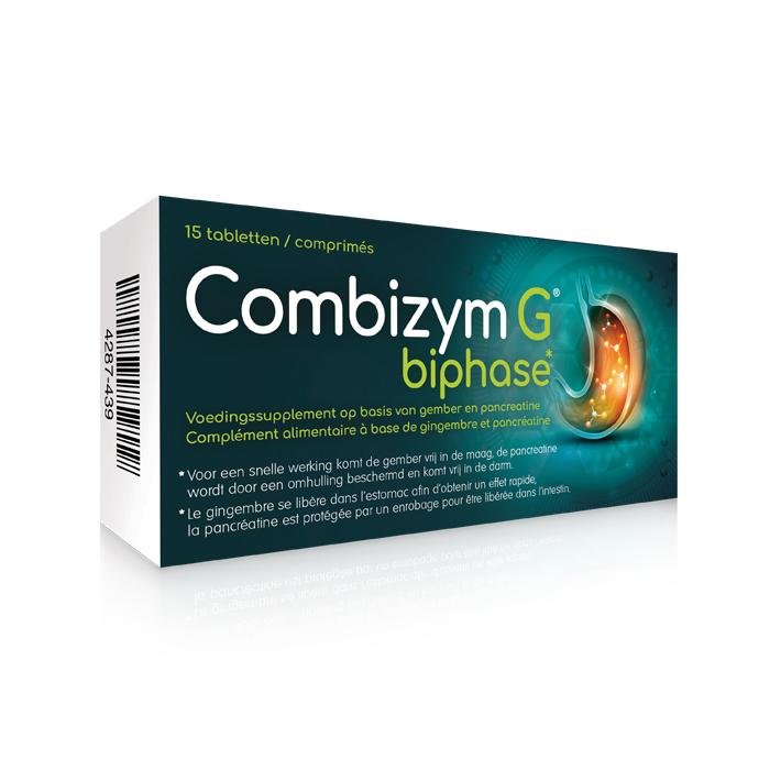 Image of Combizym G Biphase 15 Tabletten