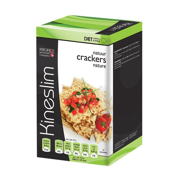 Image of Kineslim Crackers Natuur 12 Stuks